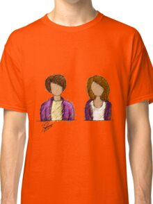 Purple Couple. Classic T-Shirt