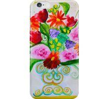 vivid summer bouquet iPhone Case/Skin