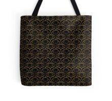 Art Nouveau Gold Foil Pumpkins Tote Bag