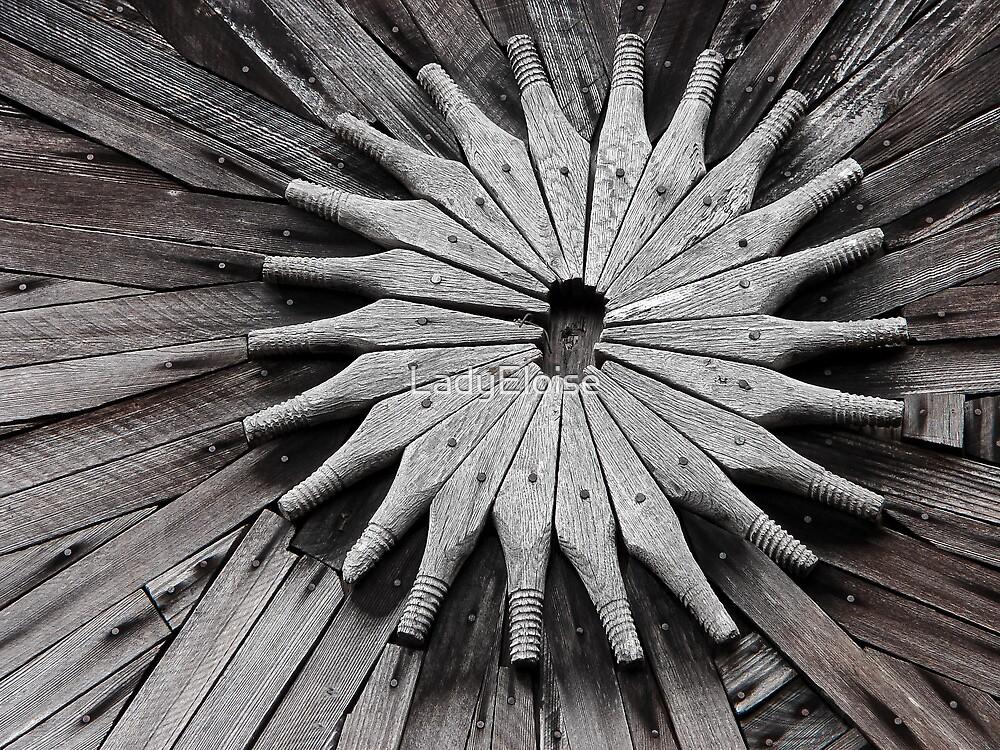 Wooden Symmetry by LadyEloise