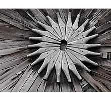 Wooden Symmetry Photographic Print