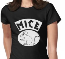 Mice Motorcycle Gang Womens Fitted T-Shirt