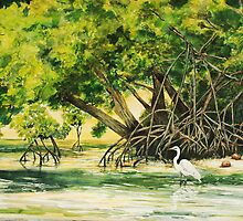 Mangrove Morning by Janis Lee Colon