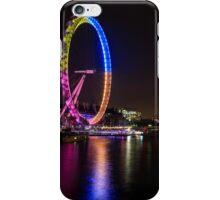 London eye at night iPhone Case/Skin