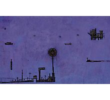 Ships in the Night  Photographic Print