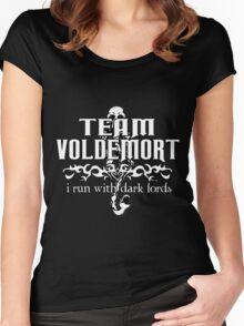 Team Voldemort! Version 2 Women's Fitted Scoop T-Shirt
