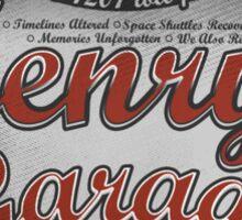 Henry's Garage Sticker