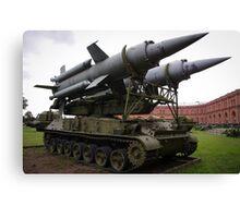 St Petersburg - Missile Launcher Canvas Print