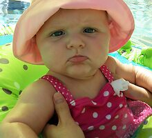 Zoey, Pool Girl  by John  Kapusta