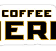 Coffee Nerd Sticker