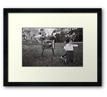 The Box Framed Print