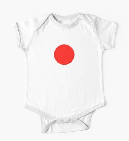 Japanese Flag Top - I Love Japan - T-shirt - Nippon Tīshatsu One Piece - Short Sleeve