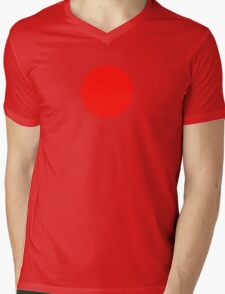 Japanese Flag Top - I Love Japan - T-shirt - Nippon Tīshatsu Mens V-Neck T-Shirt