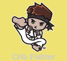Martial Arts/Karate Boy - Jumpkick - Crib Fighter (light) Kids Clothes