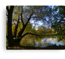 Down by the Riverside ! Canvas Print