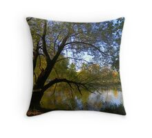 Down by the Riverside ! Throw Pillow