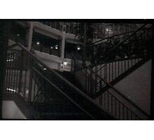 Arcade Stairs Photographic Print