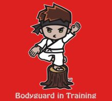 Martial Arts/Karate Boy - Crane one-legged stance - Bodyguard One Piece - Short Sleeve