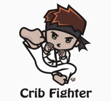 Martial Arts/Karate Boy - Jumpkick - Crib Fighter Kids Clothes