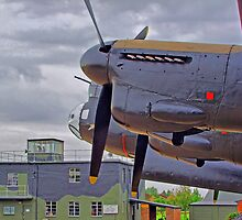 The Control Tower RAF East Kirkby - HDR by Colin  Williams Photography