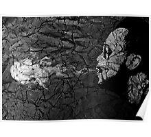 Abstract Vaping Man Poster