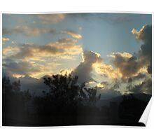 designer clouds Poster