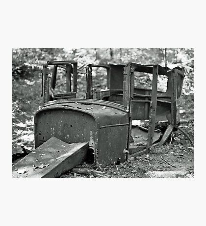 Forgotten Cadillac Photographic Print