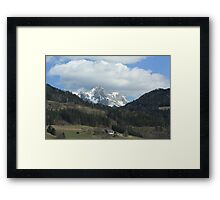 Alps in Southern Austria #1 Framed Print