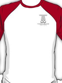 Torchwood Black Logo and Name T-Shirt