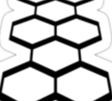 Torchwood Black Logo and Name Sticker