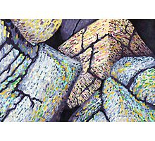 Colorful Boulders * Photographic Print