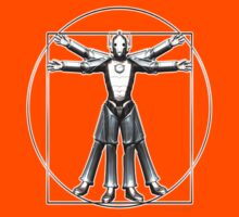Cyber-Vitruvian Man Kids Clothes