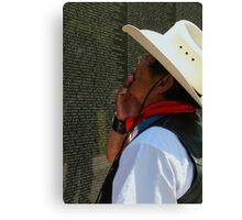 The Vietnam Wall 4423 Canvas Print