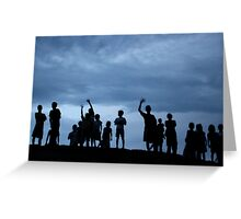 Magical Goodbye II - Puerto Peru Amazonas Greeting Card