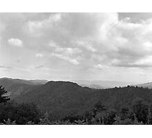 View Of Smokey Mountains Photographic Print