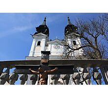 Postlingburg Church, Linz, Austria Photographic Print