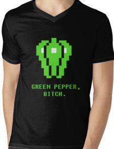 Green Pepper, Bitch. Mens V-Neck T-Shirt