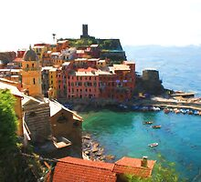 Vernazza by Murray Swift