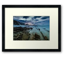 Mupe Bay before dawn Framed Print