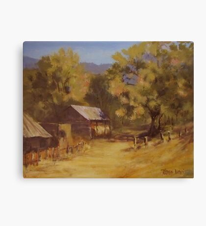 Crippen Ranch Canvas Print