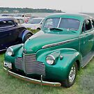1940 Chevy Coupe - Oakland Beach Cruise Night by Jack McCabe