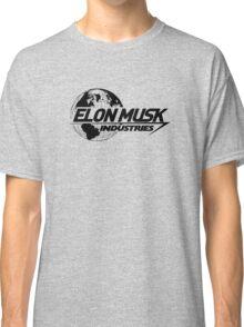 Elon Musk Industries Logo Grey Classic T-Shirt