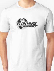 Elon Musk Industries Logo Grey Unisex T-Shirt