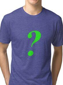 The Riddler ? Tri-blend T-Shirt