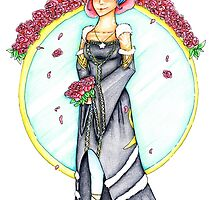 Norn Wedding Dress by xyoopx