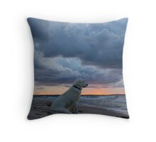 Lost in thoughts Throw Pillow