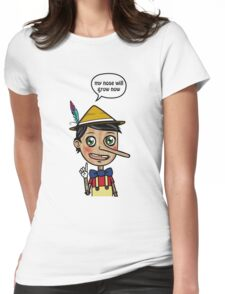 Liar's Paradox Womens Fitted T-Shirt