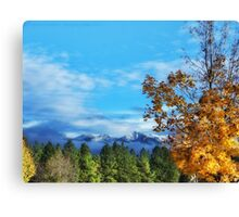 The End of Indian Summer Canvas Print
