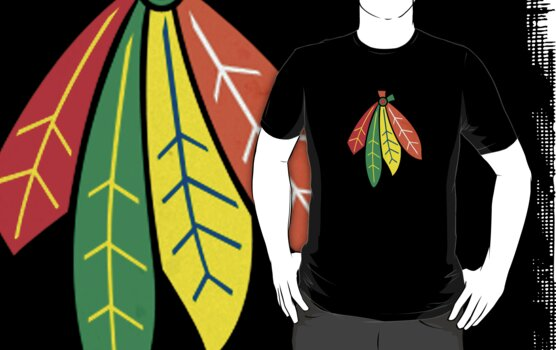 Chicago Blackhawks by rcvan