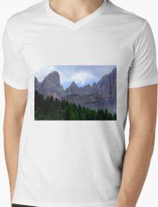 Mount Civetta  Mens V-Neck T-Shirt